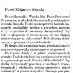 stenogram 19.01.2011 pytania ZK